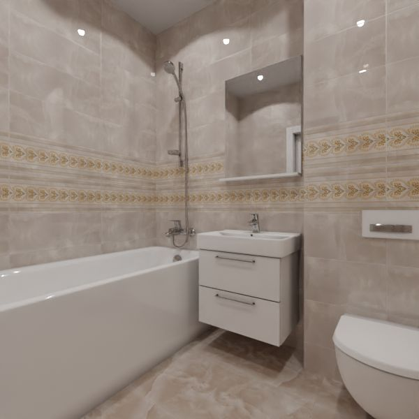 Global Tile, Neo Chic gold, Два декора