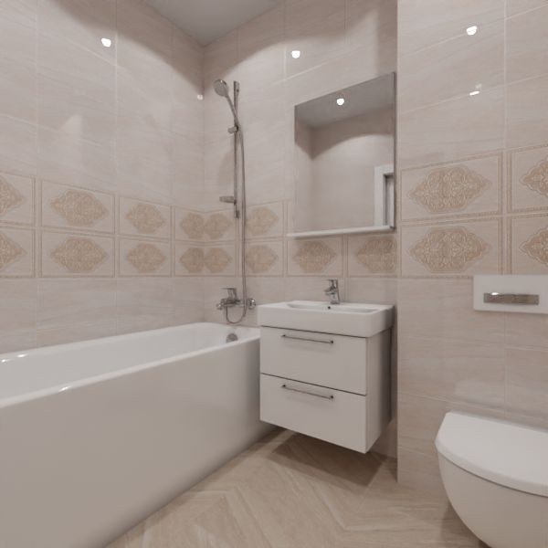 Global Tile, Ternura decor, Два декора